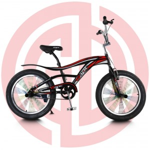 Cheapest Factory Carbon Steel frame - GD-KB-003: Single speed kids bicycle, boys' bike, metal frame, 20″ – GUODA