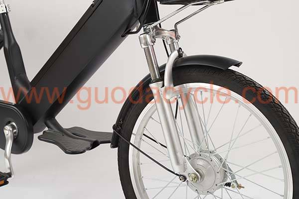 PriceList for Lady Use - GD-ECB-002: Electric city bike, aluminium alloy, 6-Tube controller, 36/48V/15AH – GUODA