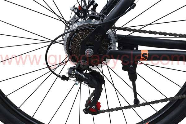 Chinese wholesale 26 Electric Mountain Bike - GD-MTB-001: Mountain bike, 21 speed, 29 inches, uban track, steel frame, disc brake, SHIMANO – GUODA