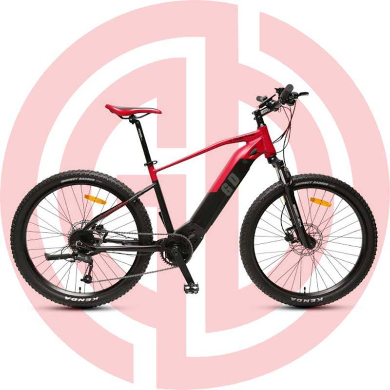GD-EMB-006:  Electric mountain bikes, 48v 500w, TIG welded, BF motor, alloy 6061