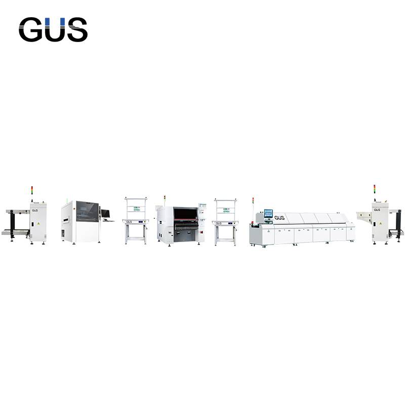 Quality Inspection for T8 Tube Assembly Line - Efficient SMT automatic production line – GUS