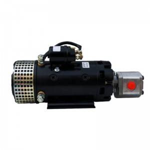 Renewable Design for Snow Plow 12v Dc Hydraulic Power Unit - Dc motor pump group – Aide Hydraulic