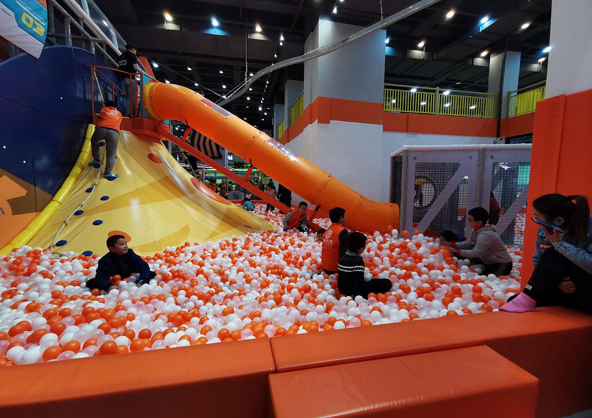 Volcano Slide Indoor Playground Featured Image