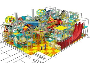 Air Force Theme series INDOOR PLAYGROUND SOFT PLAY STRACTURE