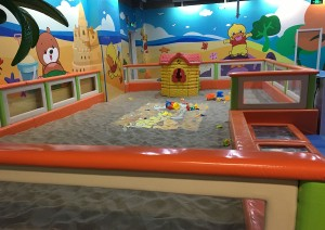 Sand Pit Toddler play