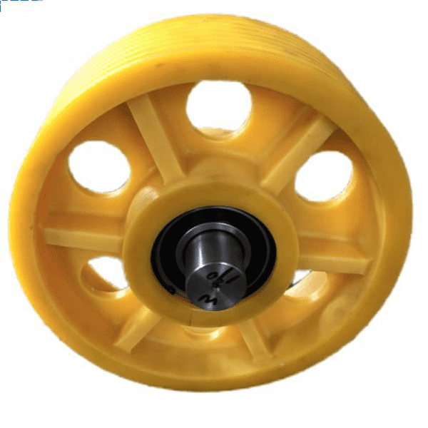 Competitive Price for Transparent nylon sheet - provide customized services of high-quality elevator nylon pulleys in various styles and specifications as required – Haida detail pictures