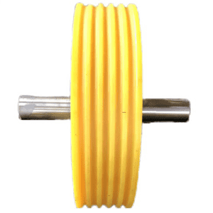 8 Year Exporter Nylon hollow rod - provide customized services of high-quality elevator nylon pulleys in various styles and specifications as required – Haida