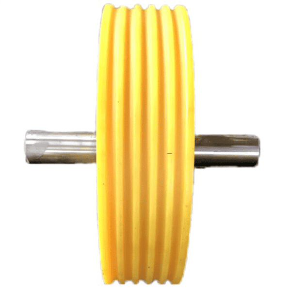 China wholesale Nylon roller - provide customized services of high-quality elevator nylon pulleys in various styles and specifications as required – Haida detail pictures