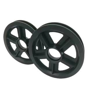 factory Outlets for Small nylon guide wheels - We can provide customized services of high-quality crane nylon pulleys in various styles and specifications as required – Haida