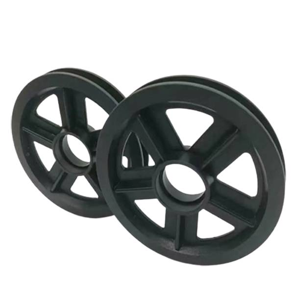 Bottom price M5 plastic washers - We can provide customized services of high-quality crane nylon pulleys in various styles and specifications as required – Haida detail pictures