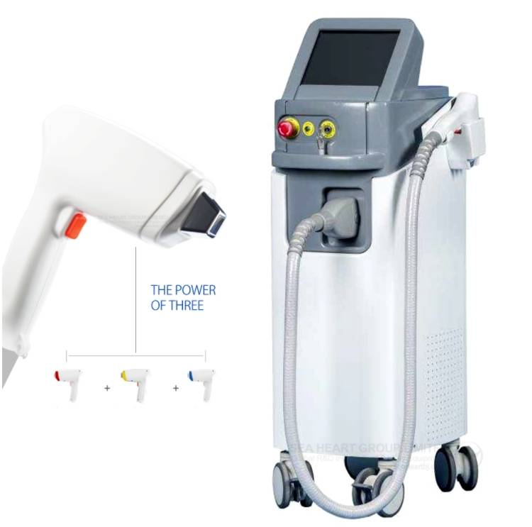 Factory supplied Facial And Body Hair Removal - New best price professional permanent 755 808 1064 nm hair removal laser / 808 diode laser hair removal machine – Haidari