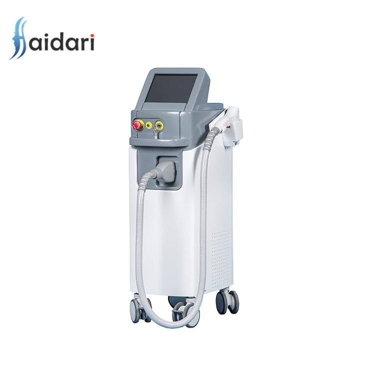 Factory directly supply 808 Diode Laser Browns Hair Remover - 808nm diode laser permanent hair removal machine – Haidari