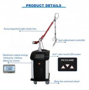 Top supplier factory price picosecond laser tattoo removal machine,DRP12,picosecond laser