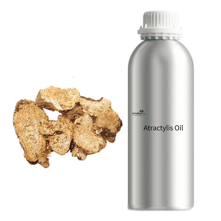 OEM Customized Pure Ginger Oil - Natural Herb Extract Essential Oil Atractylis ovata oil – HaiRui