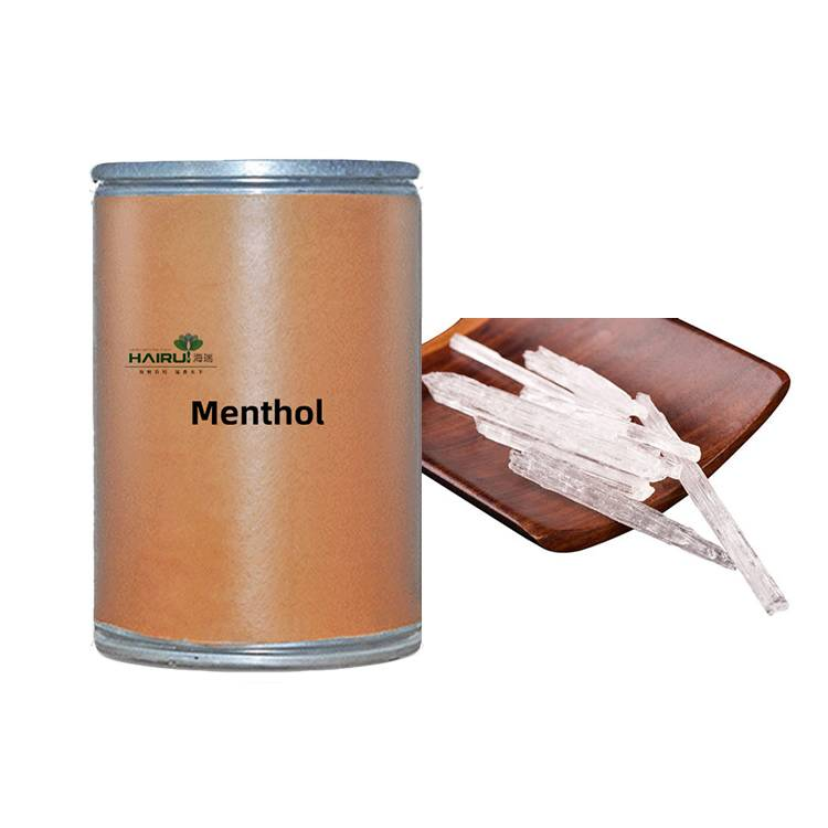 One of Hottest for Camphor Essential Oil - Good Quality Natural 99% Crystal Menthol – HaiRui