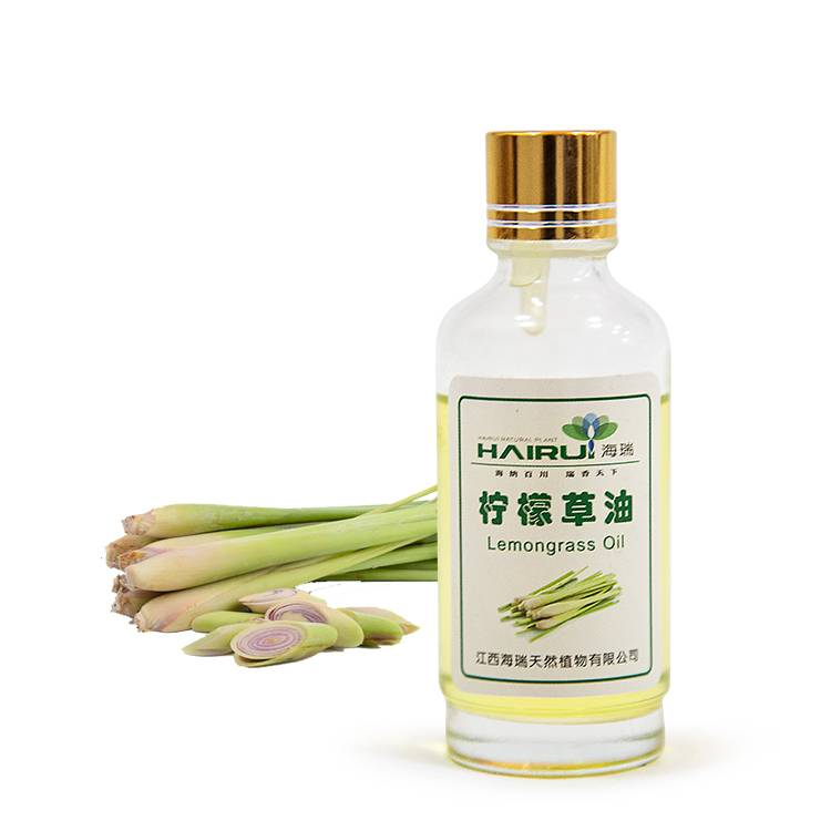 Manufactur standard Thymol Crystal - Food grade Lemongrass Essential Oil Steam Distillation For Beauty – HaiRui