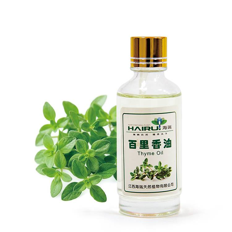 OEM/ODM Factory Blumea Oil - High purity Thymol Thyme Essential Oil for Bactericidal Disinfectant – HaiRui