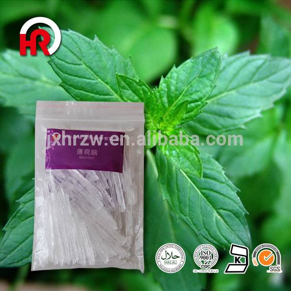 High Quality Patchouli Fragrance Oil - Top Quality food grade Mint Menthol Crystal from India with Best Price – HaiRui