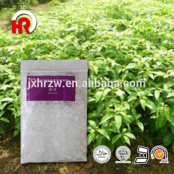 2018 High quality Food Grade Clove Oil - Borneolum Plant Extract or Crystal Borneol flake – HaiRui