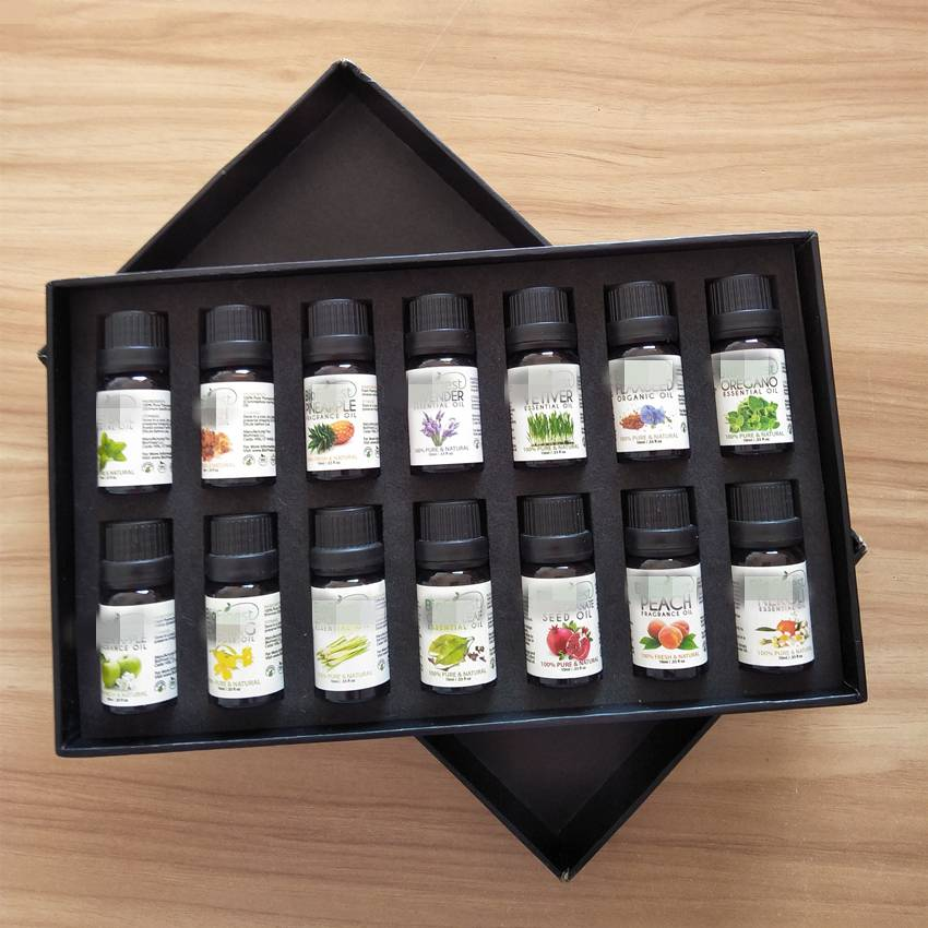 Gift Natural Essential Oil Set Of 14 oil x 10ml