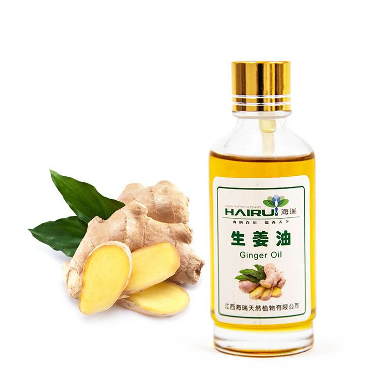 Factory selling Grapefruit Oil For Skin - COA organic ginger oil essential oil massage hair grow oil from distillation equipment – HaiRui Featured Image