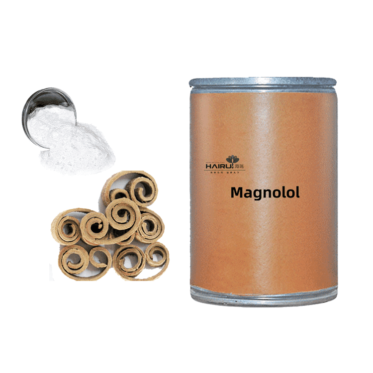 Herb medicine 98% pure natural Magnolol from China factory
