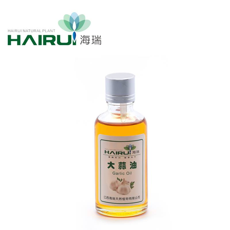 Natural Allicin Pure Organic Garlic Oil with Strong Sterilization Effect
