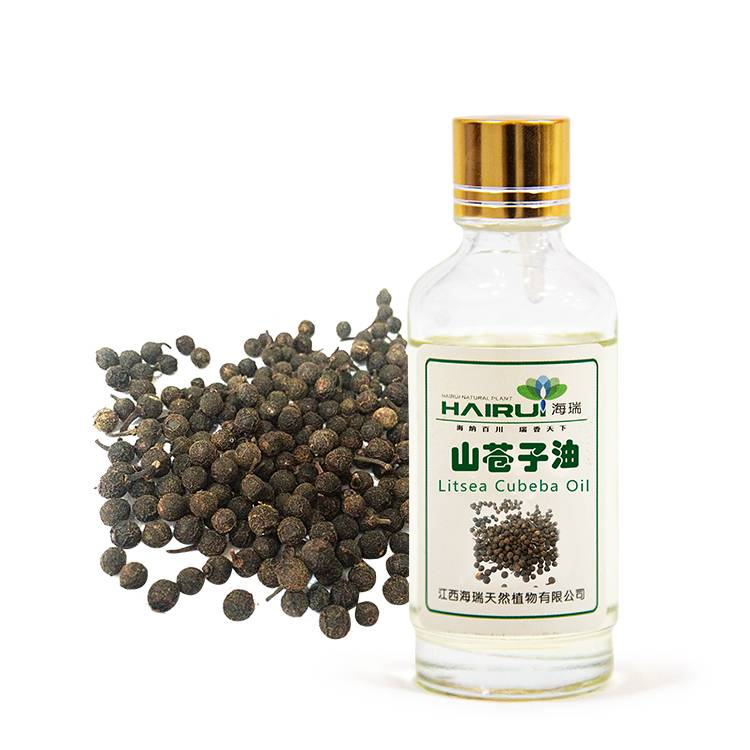 Wholesale Price Rosemary Oil For Hair - Natural Factory supply Litsea Cubeba Essential Oil for Chemical Industry – HaiRui