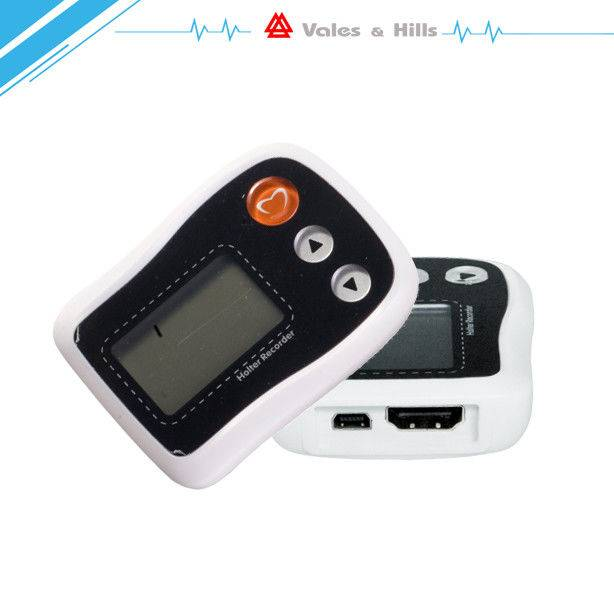 Holter ECG Recorder 24 Hours Holter System With Independent Pacemaker Channel