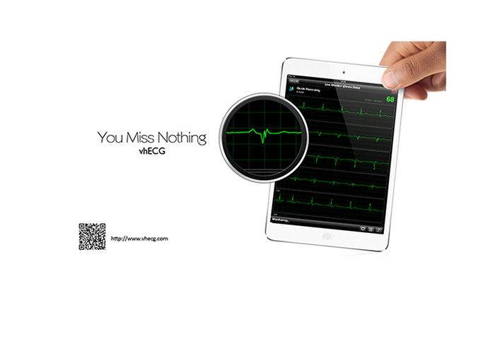 Portable Professional 12 Channel ECG Machine CE / ISO Resting ECG For IOS