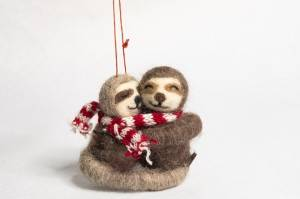Most Popular sloth ornament