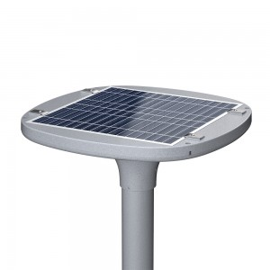 20W solar garden light 2000 lumens