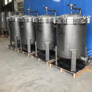 Stainless steel basket filter China basket filter housing direct factory