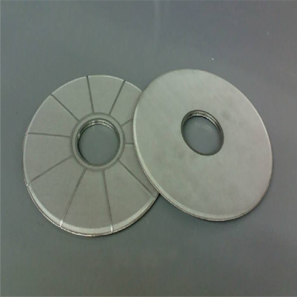 China wholesale Sintered Cartridge - Disc filter leaf disk filter with star weld – Hanke