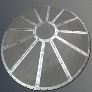 High Quality Wedge Wire Screens - Disc filter leaf disk filter with star weld – Hanke