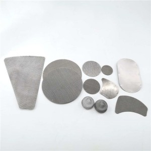 Good Wholesale Vendors Filter Disc - Filter mesh pack extruder mesh disc with different size and shapes – Hanke