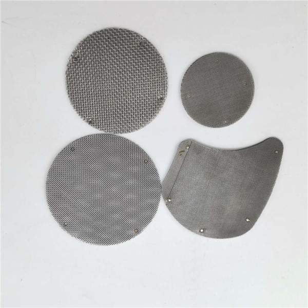 OEM/ODM Manufacturer Extruder Screen Changer - Filter mesh pack extruder mesh disc with different size and shapes – Hanke