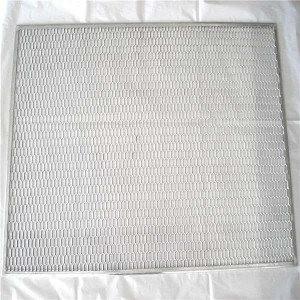 Flame proofing wire mesh ss mesh with frame China factory
