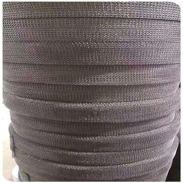 Rapid Delivery for 5micron stainless steel wire mesh - Knitted wire mesh gas liquid filter mesh with different material – Hanke