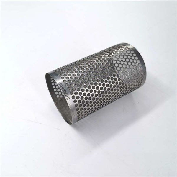 China Cheap price Ss Multi Layer Filter - Perforated tube punch tube filter with different shape holes – Hanke