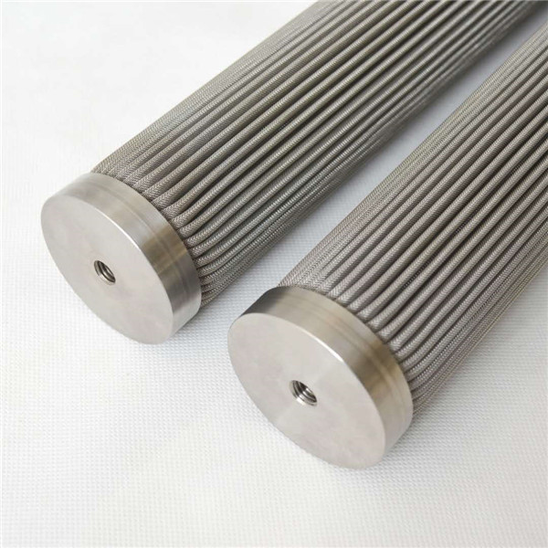Chinese Professional Wedge Wire Screen Element - Pleated filter element microporous folded filter direct factory – Hanke