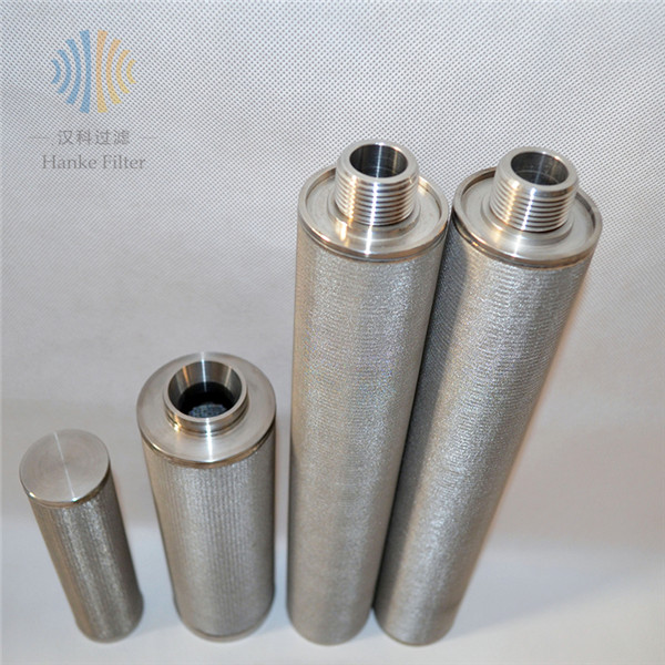China Gold Supplier for Slot Mesh Filter - Sintered filter element candle filter high efficiency – Hanke