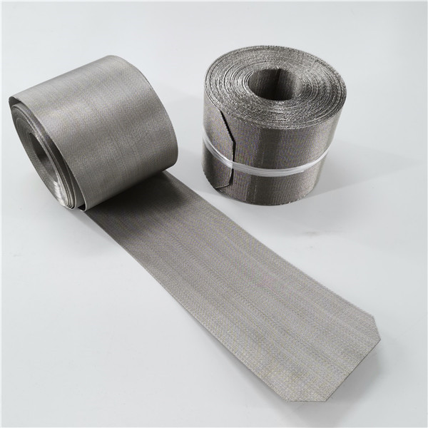 Good Quality Stainless Steel Wire Mesh - Wire mesh belt 5-heddle mesh China direct factory – Hanke