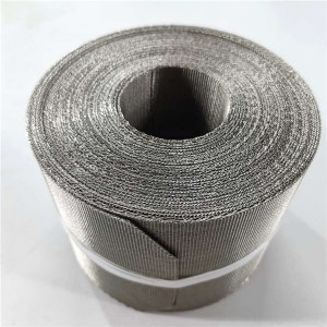 Wire mesh belt 5-heddle mesh China direct factory