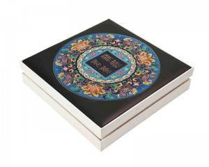 Raised UV Crystal Printing High Quality vivid printing cosmetic box rigid box gift box
