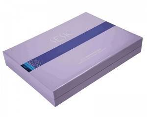 Up-Market Beauty Use Skin Care Set Gift Packaging Box Magnetic Book Paper Box For Cosmetic Makeup Products