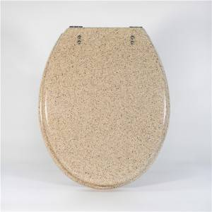factory Outlets for Baby Toilet Lid - Polyresin Toilet Seat – Pure Sand – Haorui