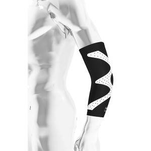 Elbow bandage, elbow sleeve, elbow support with silicone printing 21303