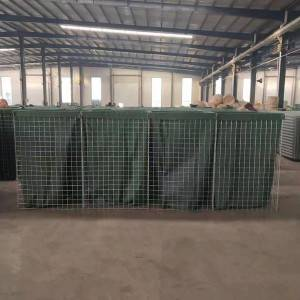 Galvanized Hesco Barrier Welded Gabion Box
