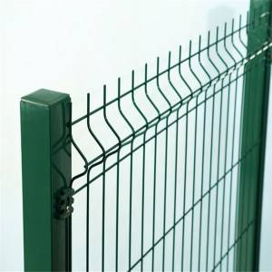 3D Fence Panel  With PVC Coated